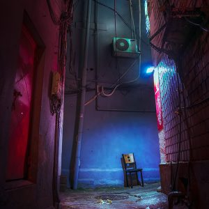 albertourra_Chair_in_the_Alley